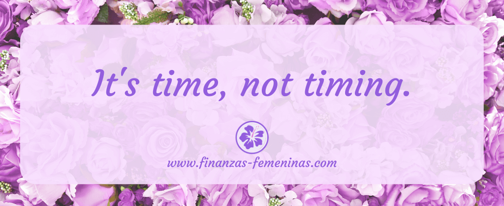 tus inversiones - it's time not timing